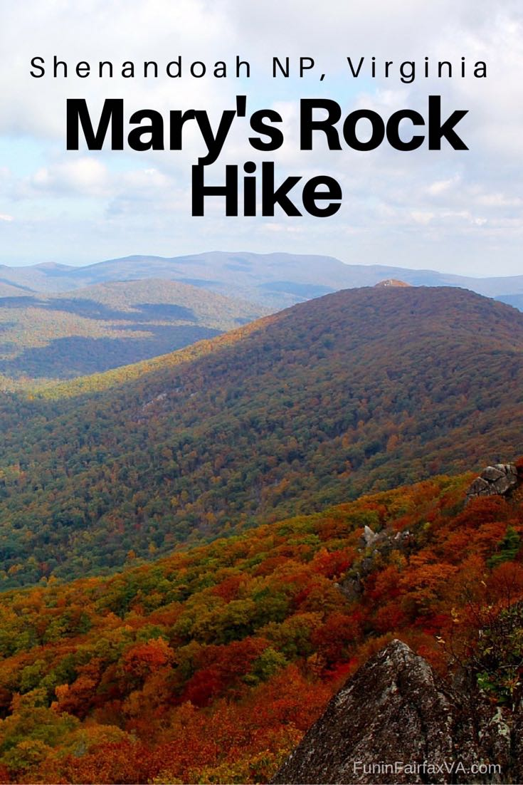 This Mary's Rock hike on the Appalachian Trail includes two spectacular Shenandoah National Park vistas and a rocky outcropping that's perfect for a rest or a scramble.