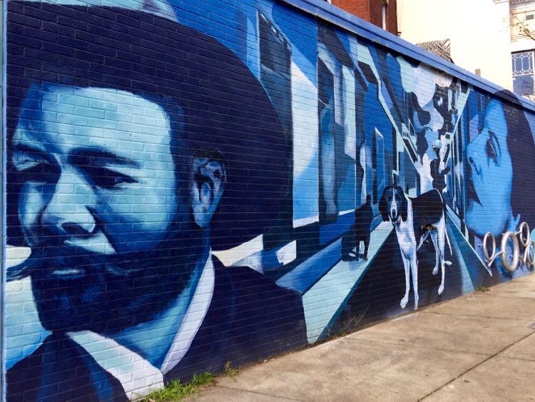 Mural at Kuba Kuba Richmond Virginia
