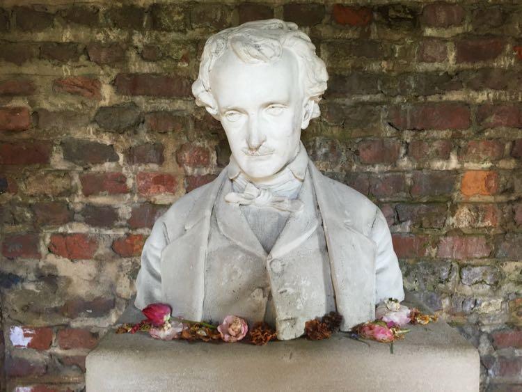 Poe Museum bust Richmond Virginia