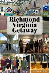Fun things to do in Richmond VA include urban hikes; food and brews; history, museums, and street art.
