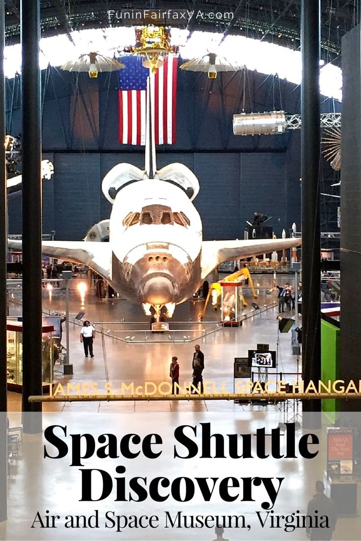 A visit to the Space Shuttle Discovery, at the Air and Space Museum in Chantilly, Virginia, is an awe-inspiring reminder of man's journey into space.