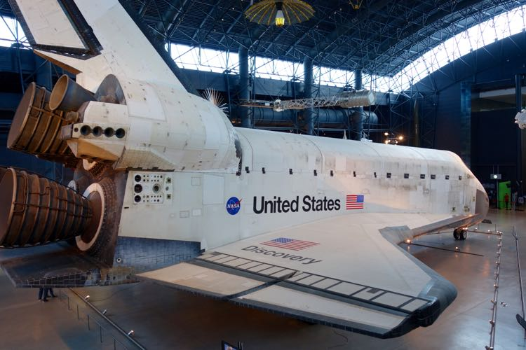 Space Shuttle Discovery Udvar-Hazy Air Space Museum
