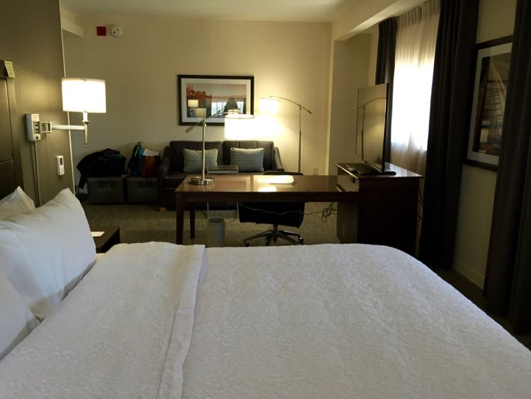 Spacious Room at Hampton Inn & Suites Richmond Virginia