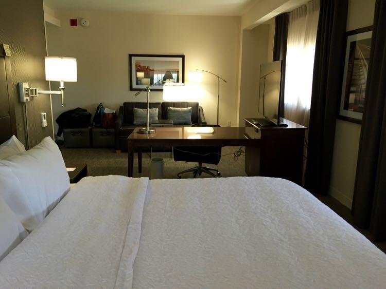 Spacious Room at Hampton Inn & Suites Richmond Virginia