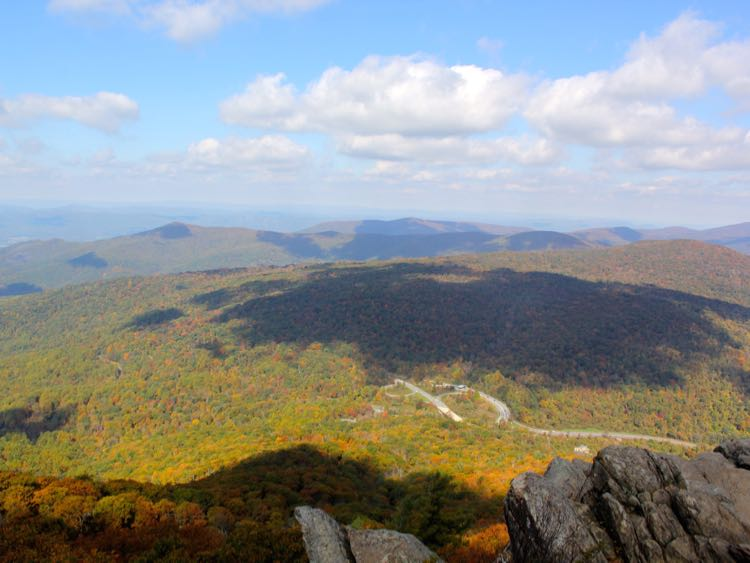 View north from Mary's Rock Shenandoah NP