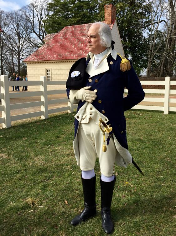 Meet George Washington at Mount Vernon on President's Day