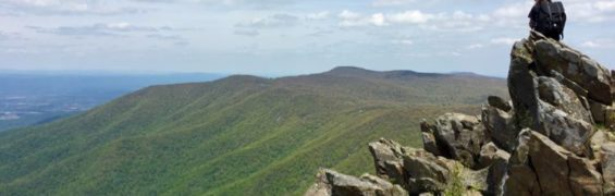 Hawksbill Summit View Shenandoah NP