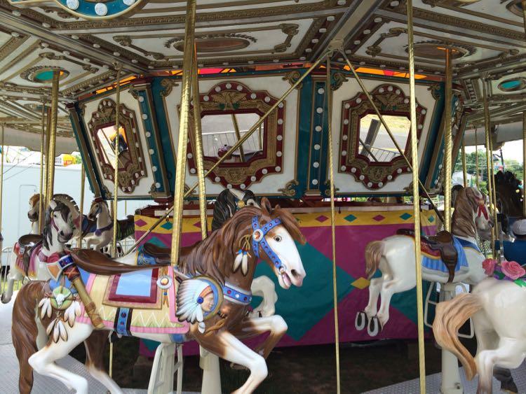 Herndon Festival carousel