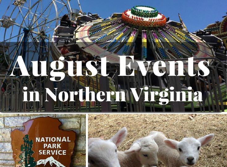 August 2016 Events Northern Virginia cropped