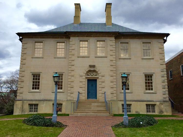 Carlyle House Alexandria Virginia