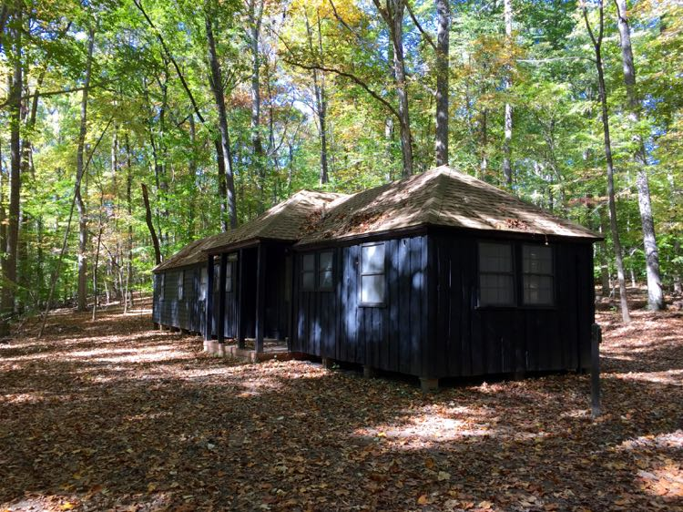 Historic cabins Prince William Forest