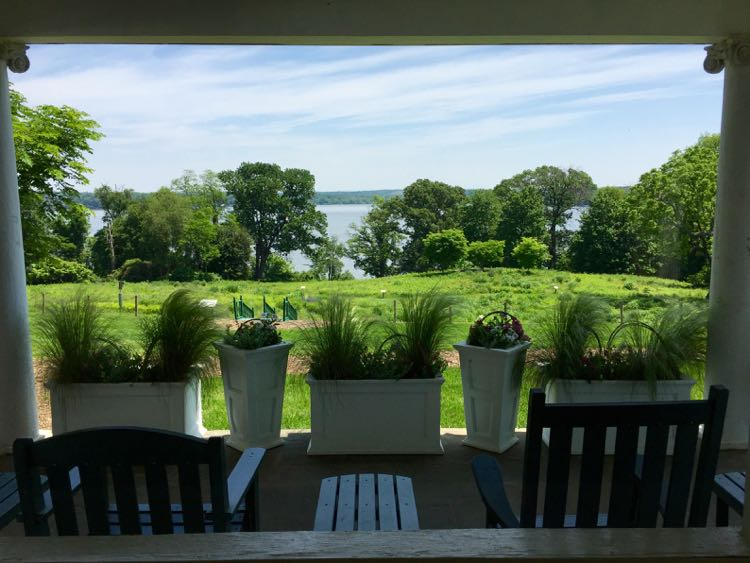Potomac porch view River Farm