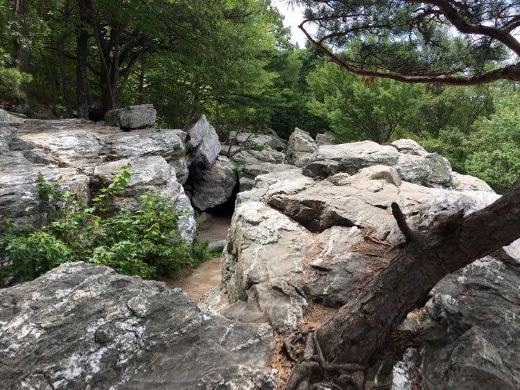 Rocks at Bears Den Overlook Virginia