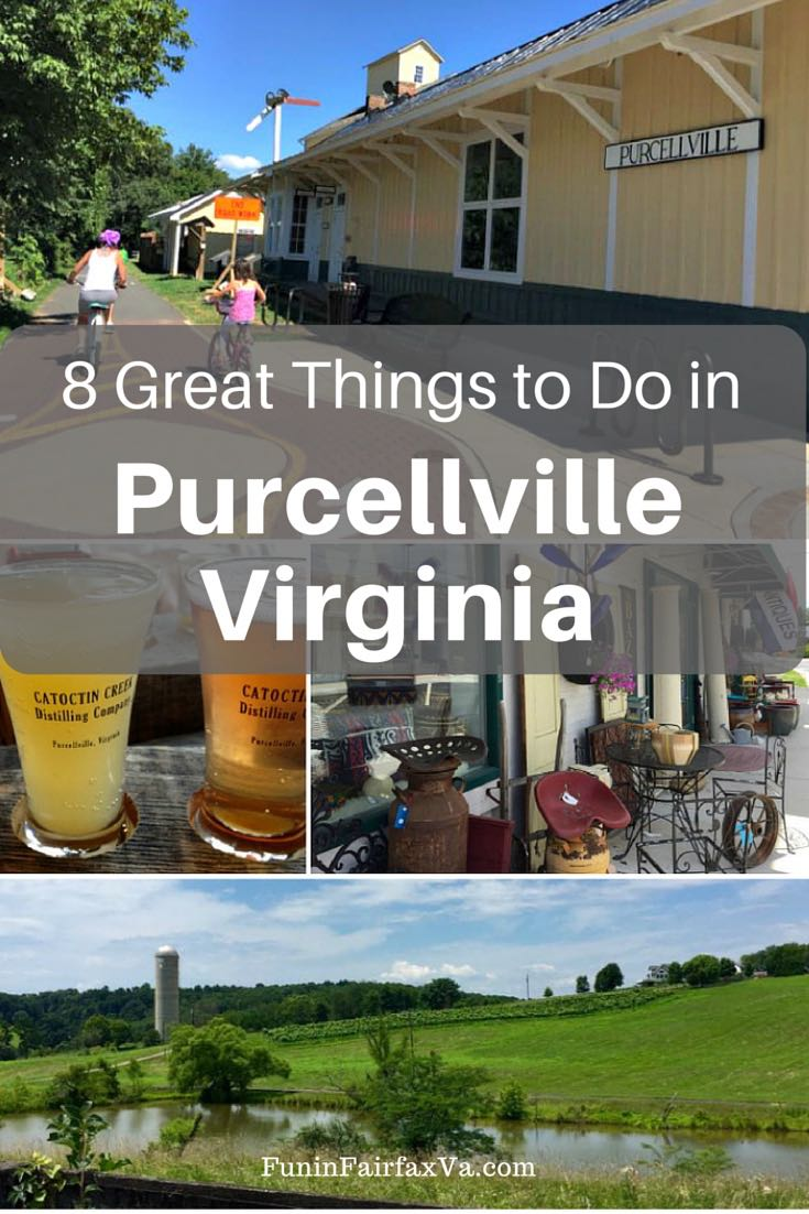 Purcellville Virginia is a small town packed with great places to dine and drink, fun shopping, easy access to trails, and a little LOVE to top it all off.