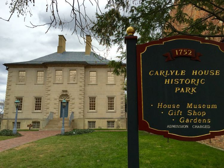 Alexandria's Carlyle House Virginia