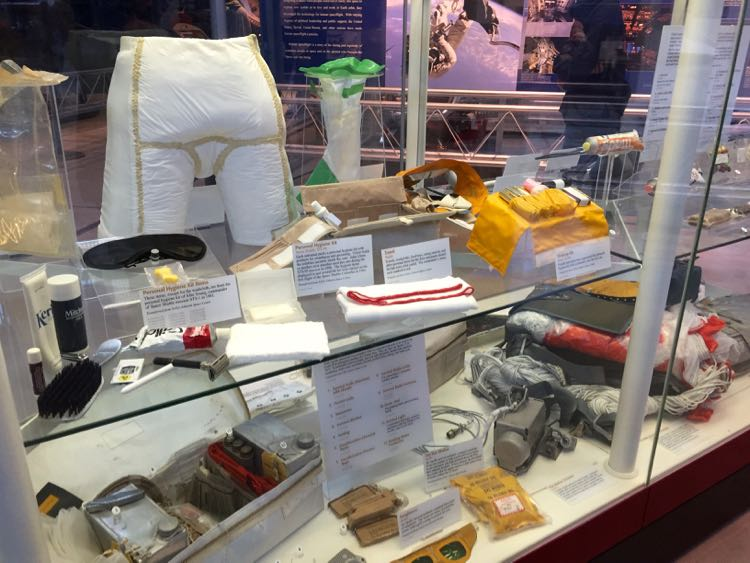 Astronaut gear Udvar-Hazy Air and Space