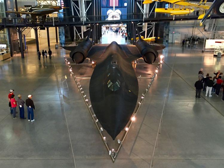 Blackbird and Shuttle Udvar-Hazy Air and Space