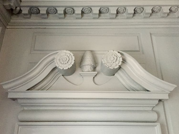 Carlyle House architectural details