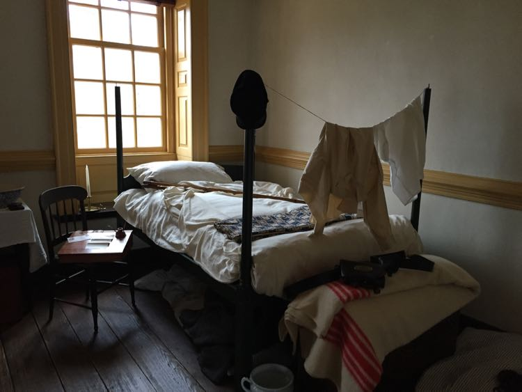 Civil War display Alexandria's Carlyle House