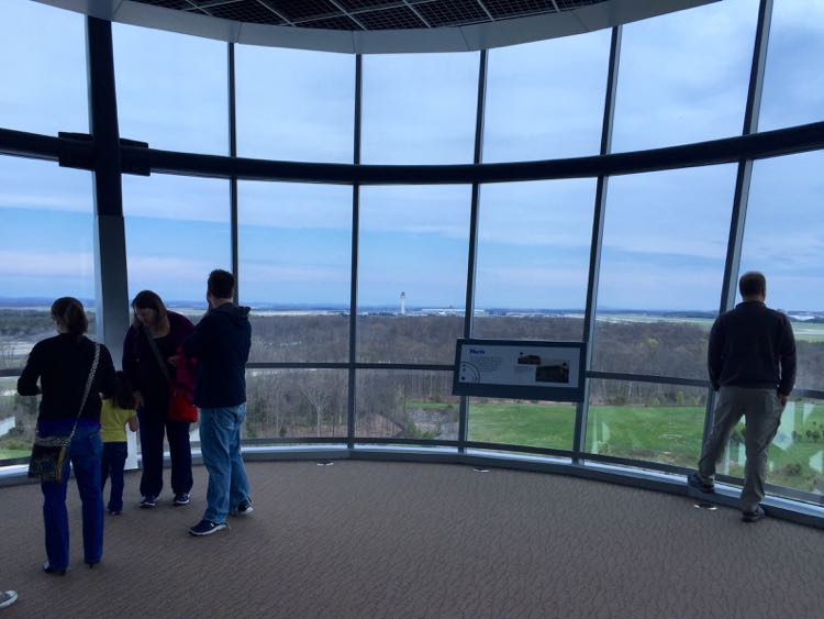 Engen Tower Dulles view Udvar-Hazy Air and Space Museum