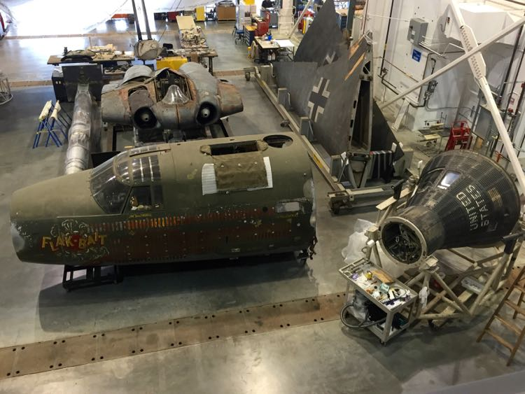Restoration Hanger Udvar-Hazy Air and Space