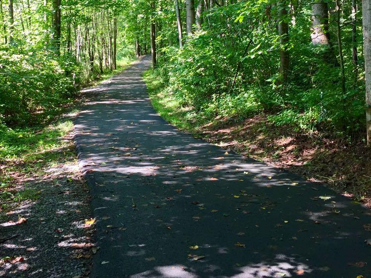 Shady Glade Stream hike Reston Virginia