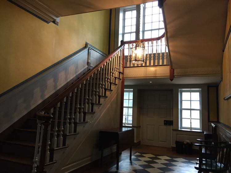 Stairway Alexandria's Carlyle House