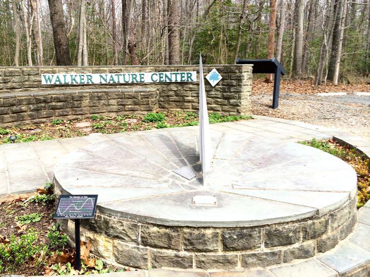 Walker Nature Center sundial