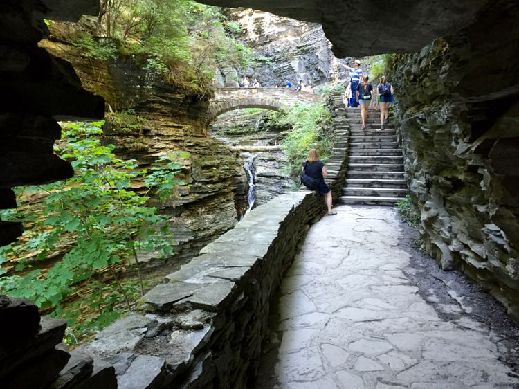 Hiking the Gorge Trail Watkins Glen SP NY