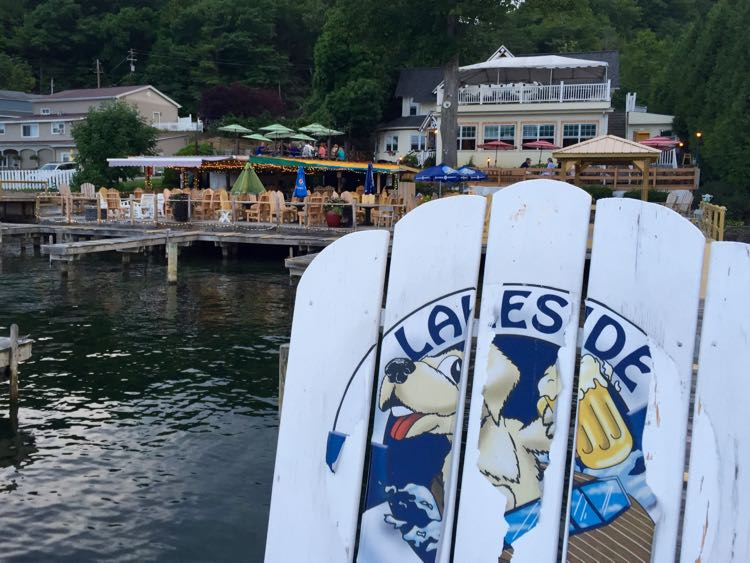 Lakeside Restaurant Keuka Lake NY
