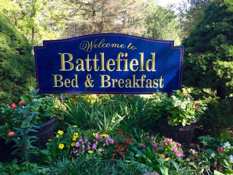 Battlefield B and B Gettysburg PA