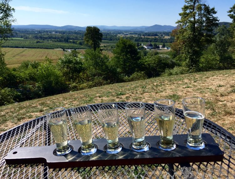 Cider with a view Hauser Estate, Biglerville PA
