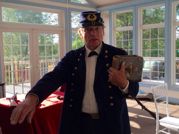 Civil War presentation Battlefield Inn, Gettysburg PA