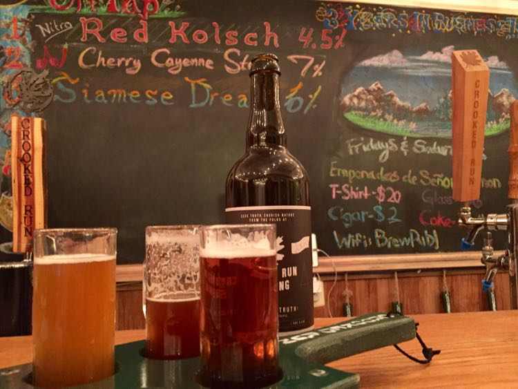 Crooked Run Brewing Leesburg Virginia