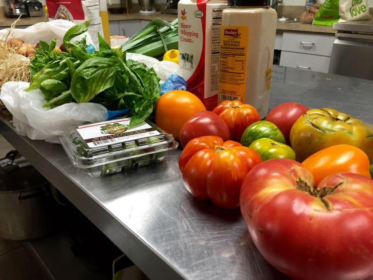 Farmers Market bounty on a Gettysburg Foodie Getaway
