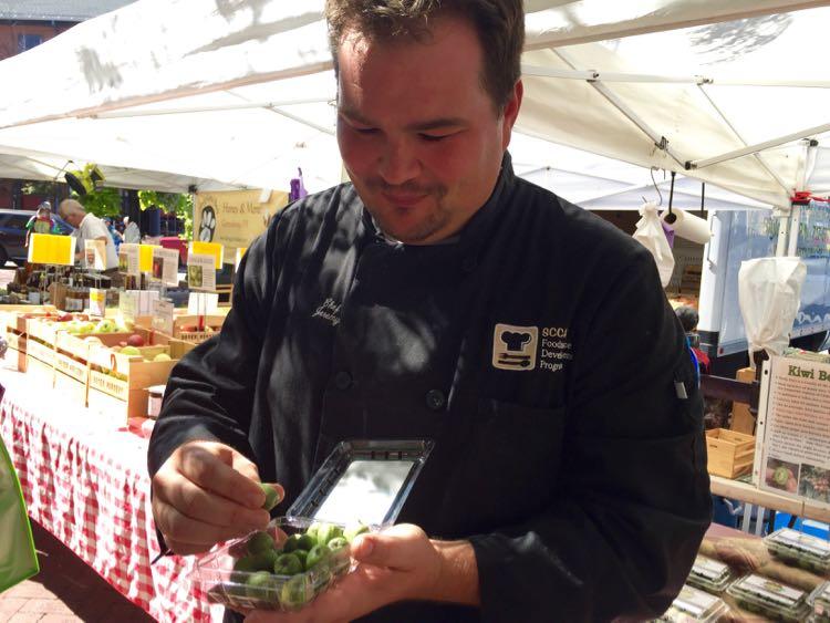 Farmers Market with Chef Shaffner Savor Gettysburg PA
