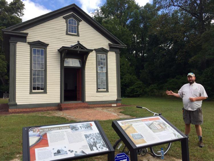 Historic Church Trap Pond SP Delaware