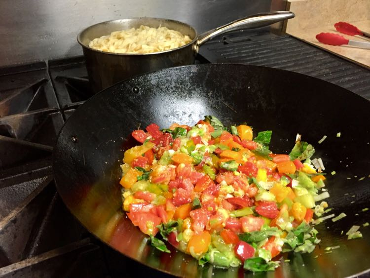 Homemade pasta and sauce Savor Gettysburg food tour