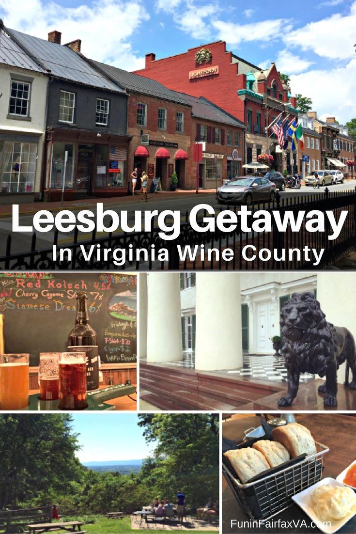 Leesburg Getaway In Northern Virginia Wine Country Fun