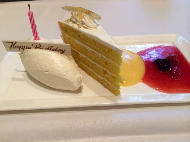 Lightfoot birthday dessert