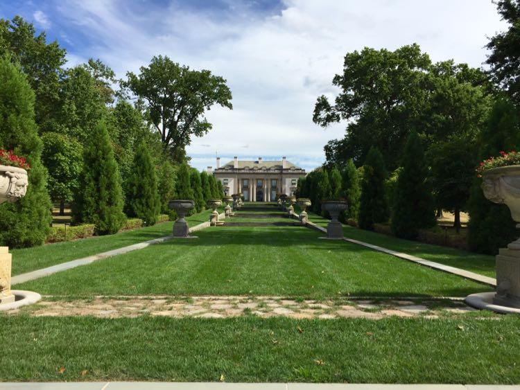 Nemours Estate from garden Wilmington Delaware