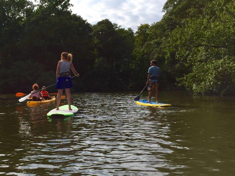 Paddling Broad Creek Southern Delaware
