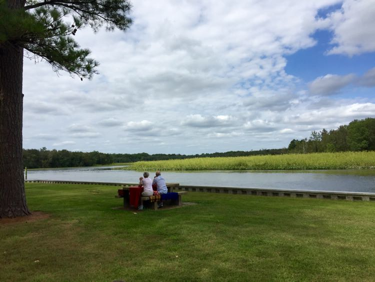 Picnic at Phillips Landing Seaford Delaware
