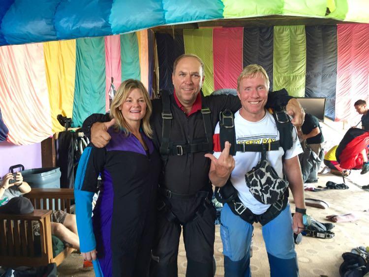 Ready to go at Skydive Delmarva Delaware getaway