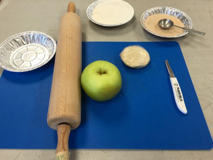 apple dumpling making Hollabaugh Bros Biglerville PA