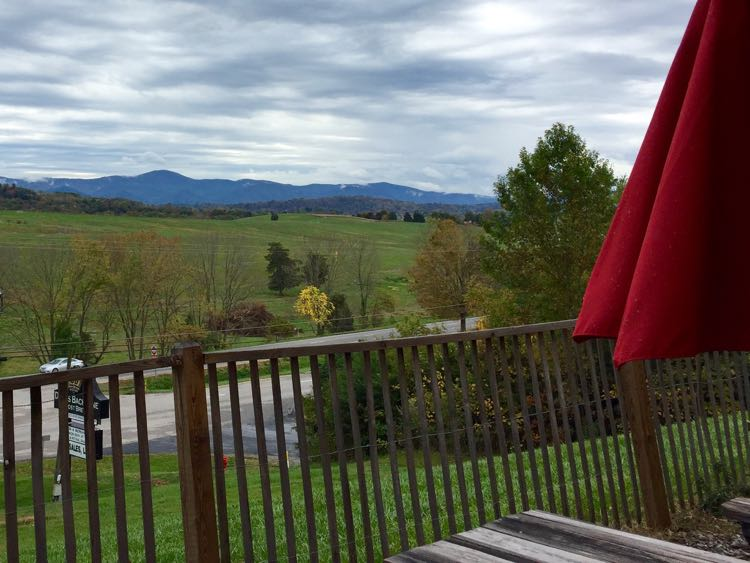 Devils Backbone Outpost view Lexington Virginia