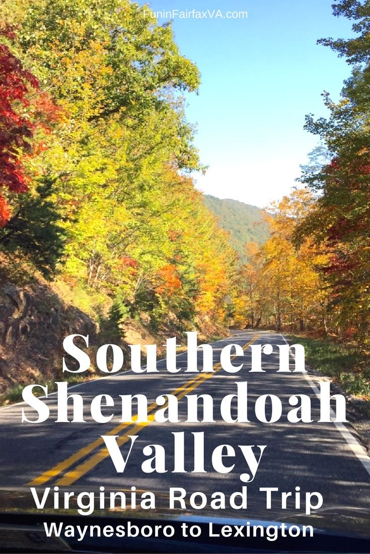 Southern Shenandoah Valley Virginia is perfect for a leisurely road trip on country roads that offer beautiful scenery and unique town and country finds.