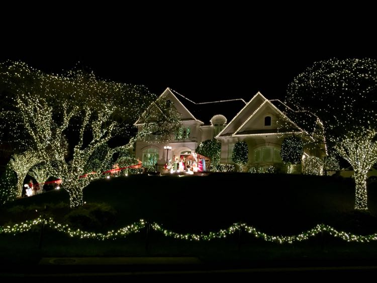 stones throw dr reston virginia christmas lights 2016
