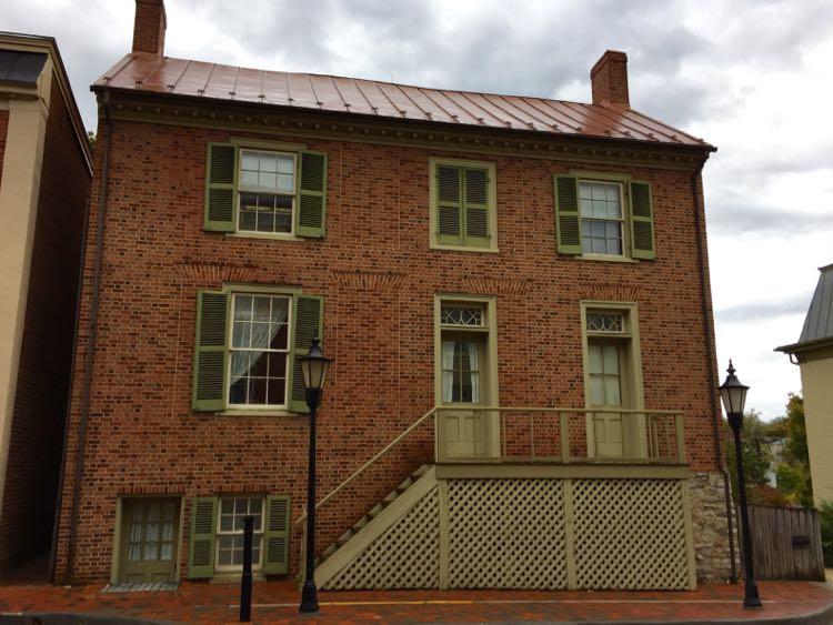 Stonewall Jackson House Lexington Virginia