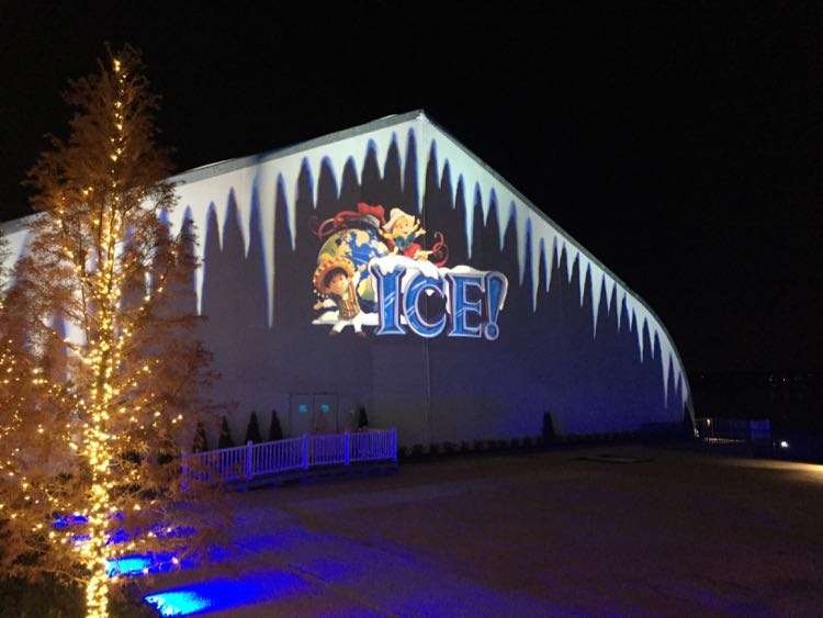 ICE! tent Gaylord National Harbor